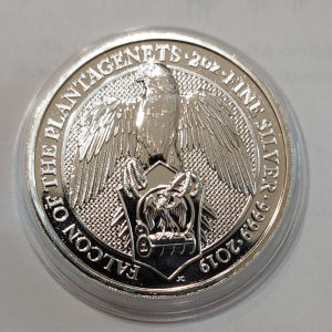 Proof 2oz silver 9999 2019