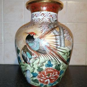 Satsuma Vase(Hand Painted)