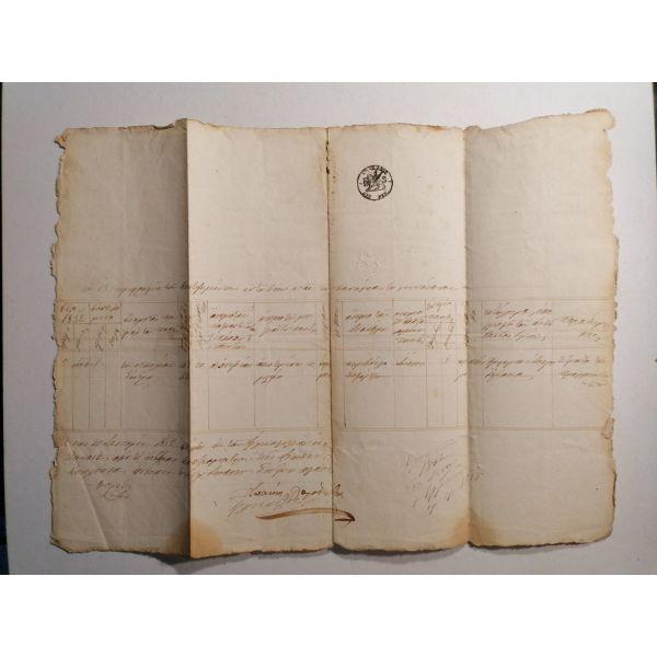 vaptistiko engrafo 1862