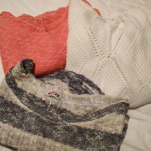 βαμβακερά ανοιξιάτικα πουλοβερ