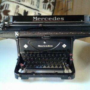 γραφομηχανή Mercedes του 1937