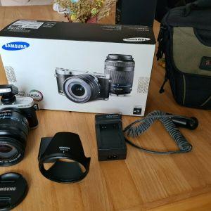 Φωτογραφική μηχανή Samsung Nx 300 και φακός 18-55mm