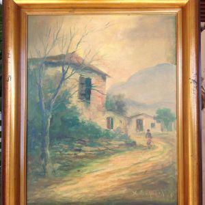 Πίνακας ελαιογραφία του Χ.Παλαιολόγου