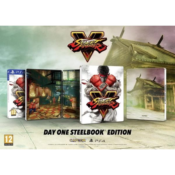 Street Fighter V - Steelbook Edition gia PS4 PS5