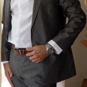 Κοστούμι BOSS Aeron1/Hamen1 Slim fit No. 46 (αξίας 900+€)