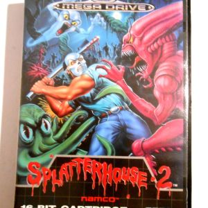 Splatterhouse 2 Sega mega drive