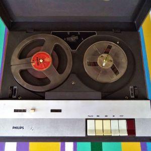 Μαγνητοφωνο-Μπομπινοφωνο PHILIPS του 1972.