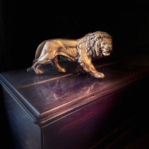 Vintage Αγαλματίδιο Λιοντάρι
