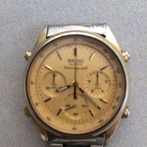 Πωλείται το ΡΟΛΟΙ ΧΕΙΡΟΣ  seiko chronograph quartz ΜΕ ΠΛΗΡΕΣ ΣΕΡΒΙΣ
