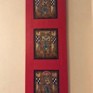 Τετράπτυχο από Πίνακες ζωγραφικής με ανάγλυφο σμάλτο