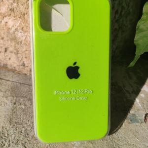 New. Original OFFICIAL Apple Θήκες σιλικόνης για IPhone 12 / 12 Pro. Green