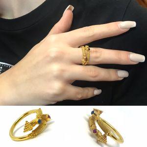 Δαχτυλιδι 18k χειροποιητο