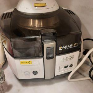 DELONGHI Multifry Φριτέζα Αέρος με Αποσπώμενο Κάδο για τηγανισμα με 1 κουταλια λάδι & πολυμαγειρας, σε αριστη κατασταση