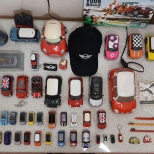 Τεράστια Συλλογή από μινιατούρες κ άλλα αντικείμενα που σχετίζονται άμεσα με MINI  COOPER BMW.