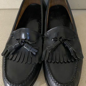 extremely gorgeous genuinely leather flat shoe by timberlands size 43.5 in excellent condition