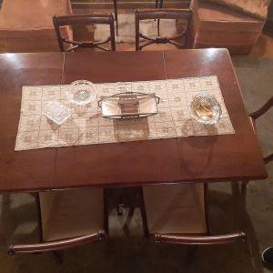 Τραπεζαρία αντικες με 6 καρεκλες