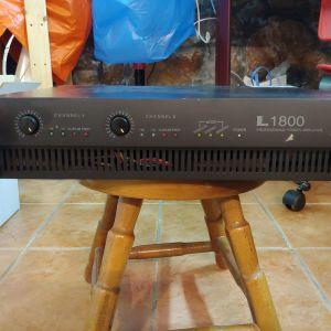 Ενισχυτής ήχου Interm L1800 2*600w