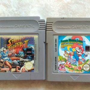 GAME BOY SUPER MARIO - STREET FIGHTER