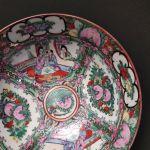 Κινέζικο μπωλ πορσελάνης, Family Rose, Qianlong, Qing Dynasti, 18ου αιώνα
