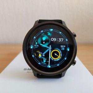 Smartwatch καινούργιo με οθόνη 360*360 ,custom watchfaces και θερμομέτρηση