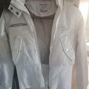 Επώνυμο αδιάβροχο μπουφάν με αποσπώμενη κουκούλα
