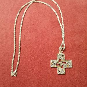 Ασημένιος σταυρός 925!!