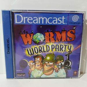 EUROPEAN SEGA DREAMCAST WORMS WORLD PARTY USED VIDEO GAME