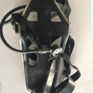 Drager Αναπνευστική Συσκευή με πανοραμική μάσκα οξυγόνου για δύτες , πυροσβέστες και άλλες εφαρμογές.
