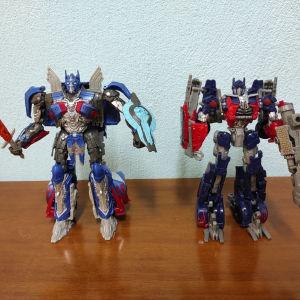 Transformers Optimus Prime φιγούρες (Dark of the Moon & The Last Knight)