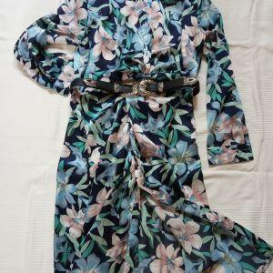 Floral φόρεμα ανοιξιάτικο