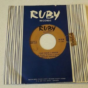Vinyl record 45 - Benoit Philippe