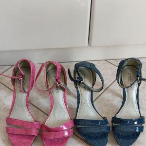 γυναικεία παπούτσια primadonna γνήσιο δέρμα σχεδόν κοινουριες Και τά διό ζευγάρια 30 ευρώ