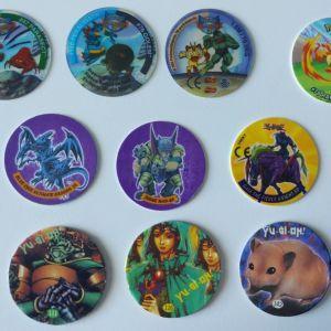 10 τάπες pokemon και Yu-Gi-Oh!