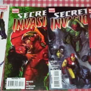 Αμερικανικά Marvel, DC Comics τεύχη και τόμοι πωλούνται.