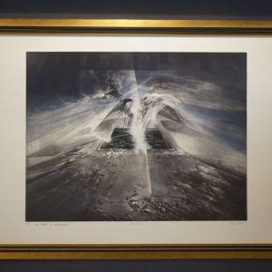 """""""Μελαγχολία"""" André Bongibault, Gravure Aquatinte, πολλαπλό 11/99"""