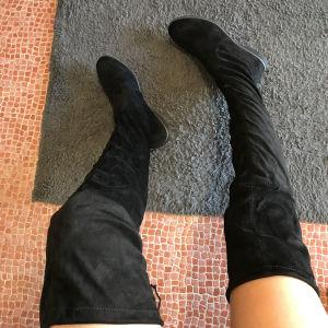Σουέτ μπότες ψηλές