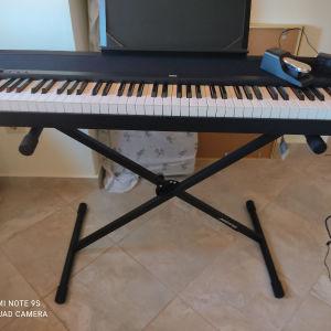 Stage piano korg B2N 88 και βάση jamstand js500c