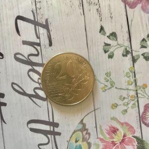 Κέρμα Δ. Σολωμός 20 δραχμές