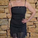 Φόρεμα βραδινό αμπιγέ μαύρο