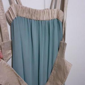 Μακρύ φόρεμα moutaki με ζώνη