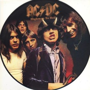 AC/DC Highway To Hell Picture Disc