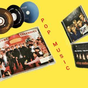 ΑΥΘΕΝΤΙΚΑ CD POP MUSIC (BACKSTREET BOYS-WESTLIFE-NSYNC)