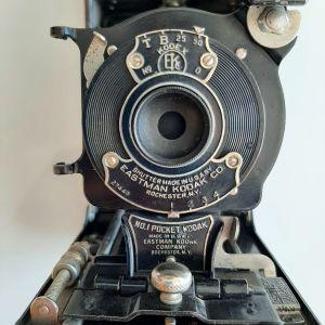 VINTAGE PHOTO CAMERA KODAK KODEX EKC ΣΕ ΑΡΙΣΤΗ ΚΑΤΑΣΤΑΣΗ.  S.N. 27449 ΤΩΝ ΑΡΧΩΝ ΤΟΥ 1900