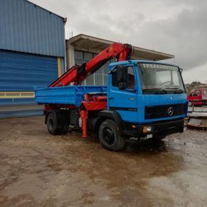 Φορτηγο 1520 με γερανό palfinger 12500 3 υδραυλικά με 6αρι χειριστήριο
