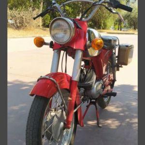 μηχανάκι ZUNDAPP 50cc 1971.εχει πινακιδα και χαρτιά κανονικά.. δουλευει αψογα...φυλάσσεται σε γκαράζ.
