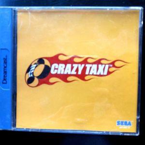 Crazy Taxi Dreamcast game