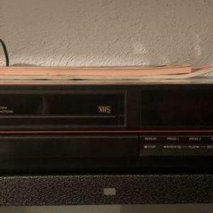 video cassette recorder SANYO