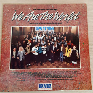 USA FOR AFRICA - WE ARE THE WORLD (1985 US) plus 9 new Superstar Songs - vinyl record LP 2