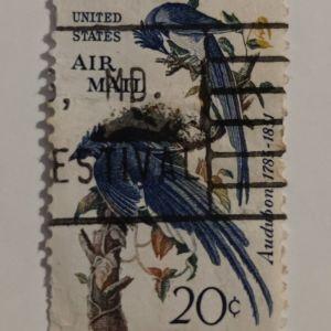 Columbia Jay Audubon - Γραμματόσημο ΗΠΑ (1963)