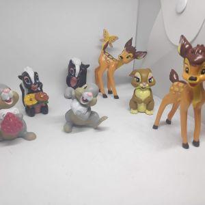 7 Συλλεκτικες Φιγουρες Bambie Το Ελαφακι